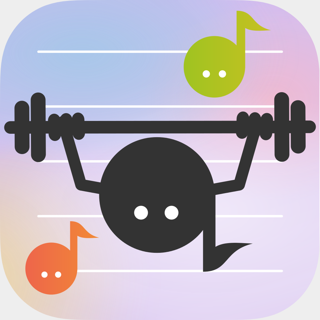 Simple Music Note Workout WebSite